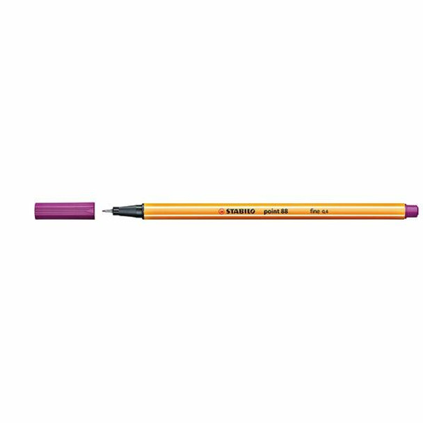 STABILO Point 88 Fineliner Lilac Box10 0269460