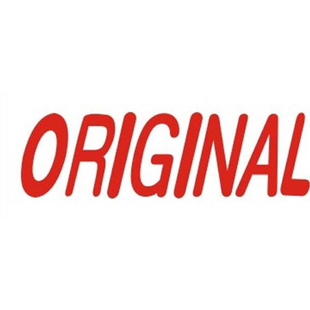 Deskmate Pre-Inked Office Stamp Original Red 0317220