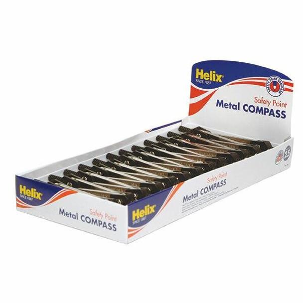 Helix Metal Compass Single X CARTON of 25 0353370