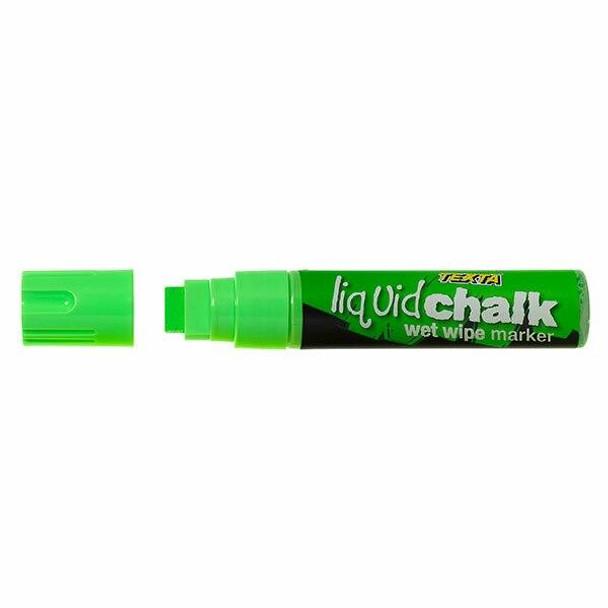 TEXTA Liquid Chalk Marker Wet Wipe Green 0388210