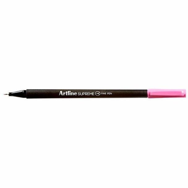 Artline Supreme Fineliner Pen 0.4mm Pink BOX12 102109