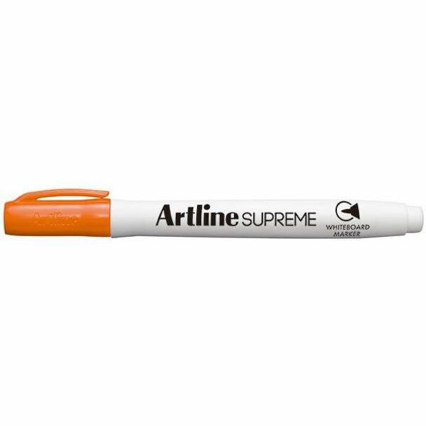 Artline Supreme Whiteboard Marker Orange BOX12 105105