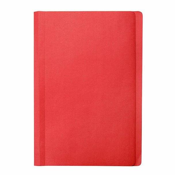 Marbig Manilla Folders Foolscap Red Pack20 X CARTON of 5 1108603