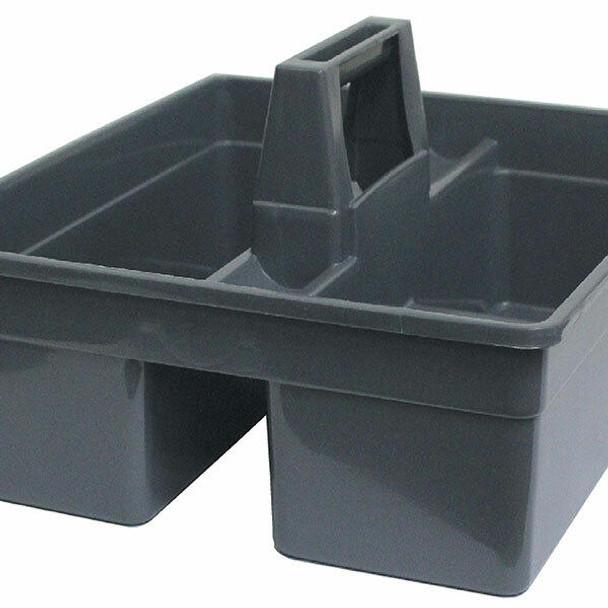 Cleanlink Utility Basket Plastic Grey 12077