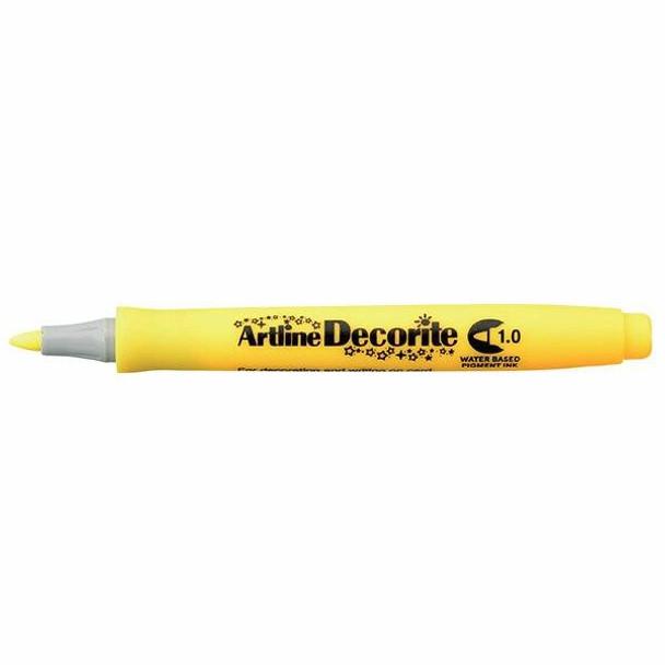 Artline Decorite Standard 1.0 Yellow BOX12 140707