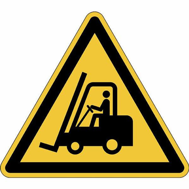 DURABLE Marking Sign Caution Forklifts Yellow 173404