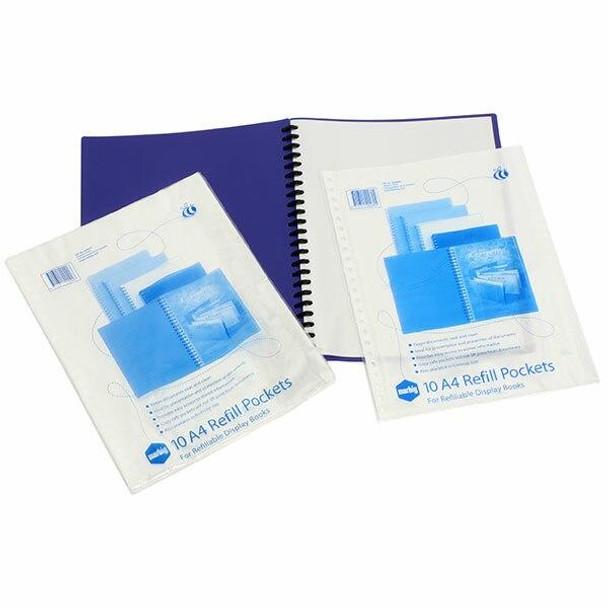 Marbig Display Book Refills Pack 10 X CARTON of 10 2008000