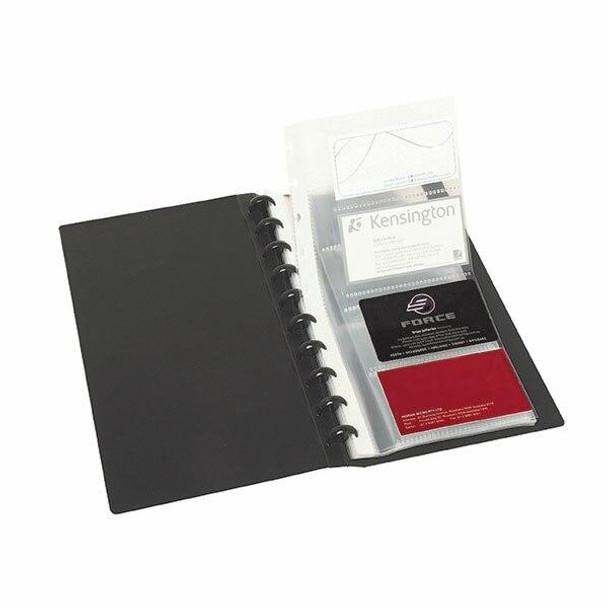 Marbig Kwik Zip Business Card A4 200 Cap X CARTON of 6 2021002