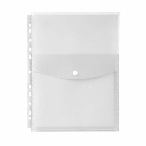 Marbig Binder Wallet A4 Top Open Clear X CARTON of 12 2025812