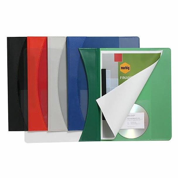 Marbig Flat Files A4 Premier Green X CARTON of 25 2050004