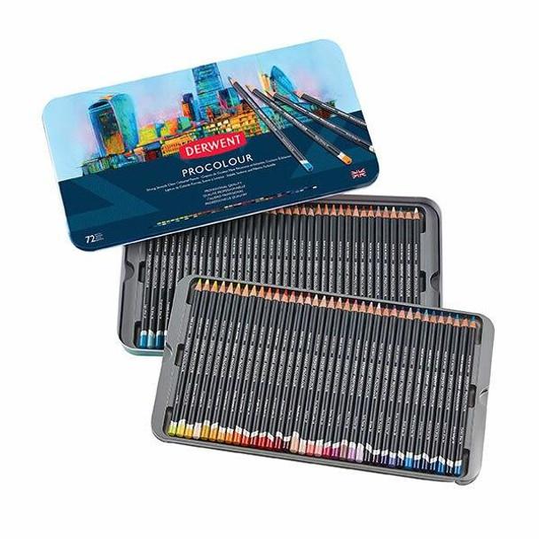 DERWENT Procolour Pencil Tin 72 2302508