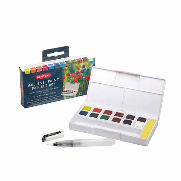 DERWENT Inktense Paint Pan Palette Set 02 X CARTON of 6 2305789