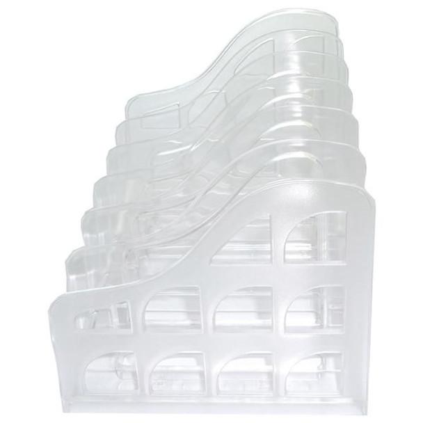 Metro 3849 Vertical Organiser File Sorter Snow/Crystal 2384988