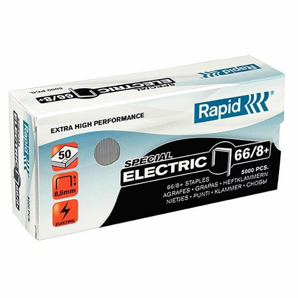 Rapid Staples 66/8mm Box5000 S/Strong 24868000