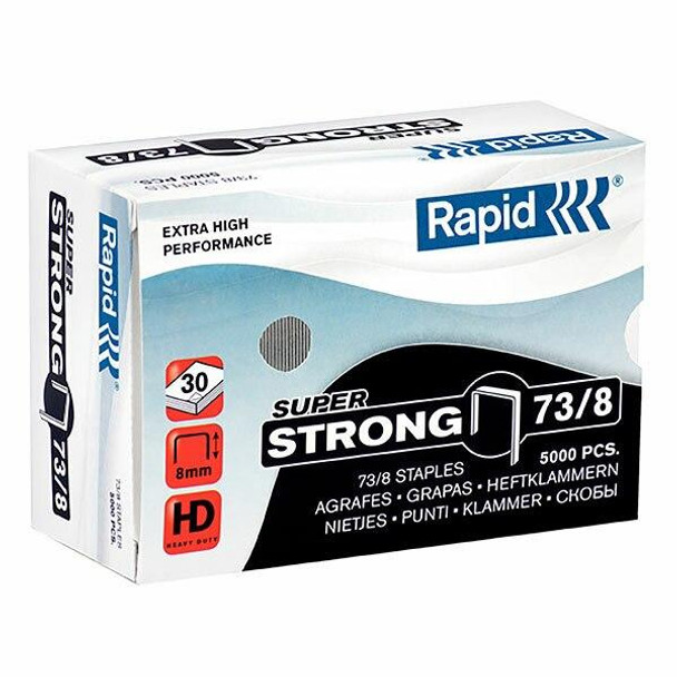 Rapid Staples 73/8mm Box5000 S/Strong 24890300