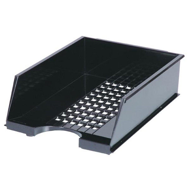 Esselte Industry Document Tray Black 315627