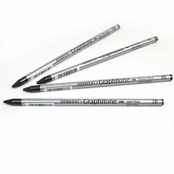 DERWENT Graphitone Pencil 4b X CARTON of 12 34302