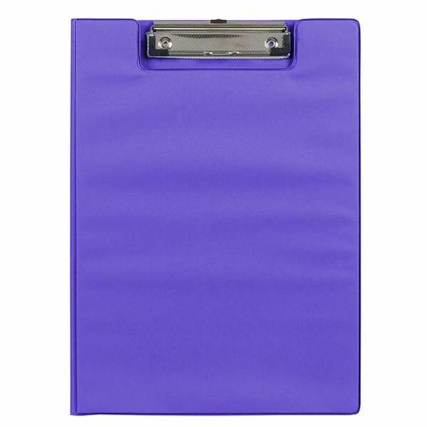 Marbig Clipfolder Summer Colours Pe A4 Purple X CARTON of 6 4300619A