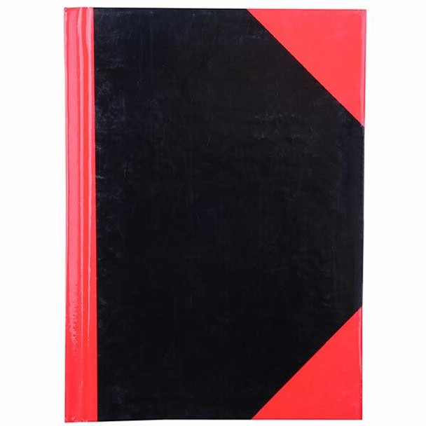 CUMBERLAND Red and Black Notebook Gloss A6 100 LeAnti-Fatigue 43102