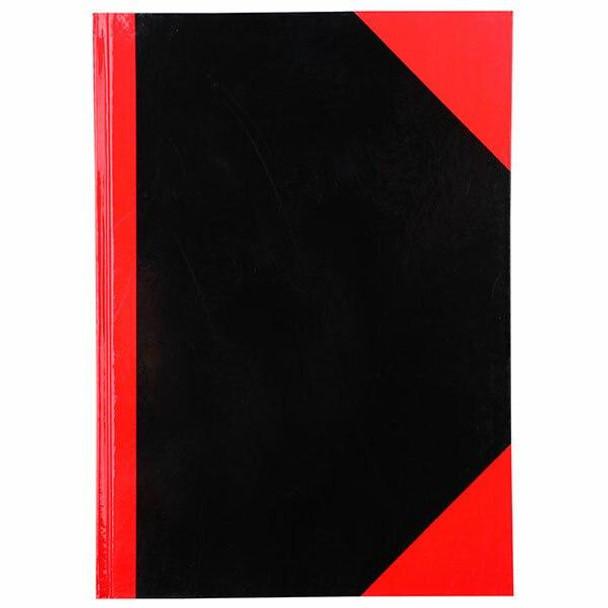 CUMBERLAND Red and Black Notebook Gloss A4 100 LeAnti-Fatigue 43111CM