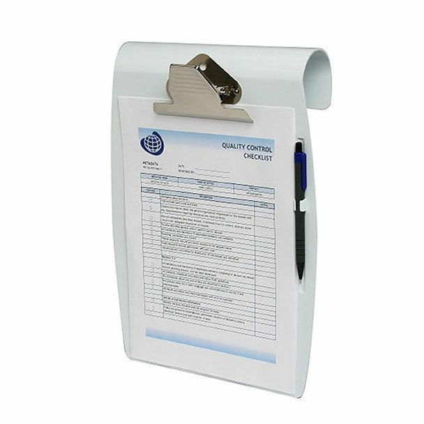 Marbig Clipboard Hang It A4 White X CARTON of 6 4420008