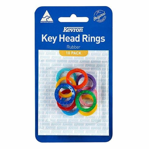 Kevron Al1052 Key Head Rings Assorted Ok10 X CARTON of 10 47044