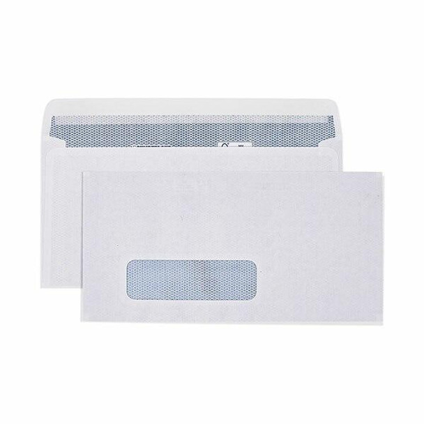 CUMBERLAND Laser Envelope Window 90gsm Dl 110 X 220mm White Box500 6033111