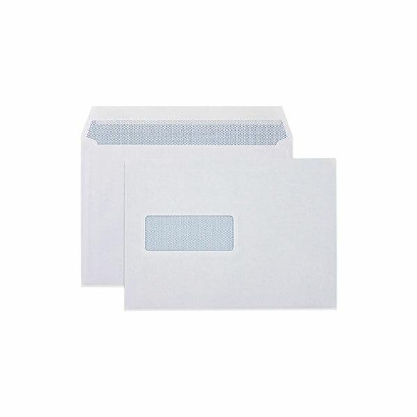 CUMBERLAND Booklet Mailer With Window 90gsm C5 162 X 229mm White 6063411