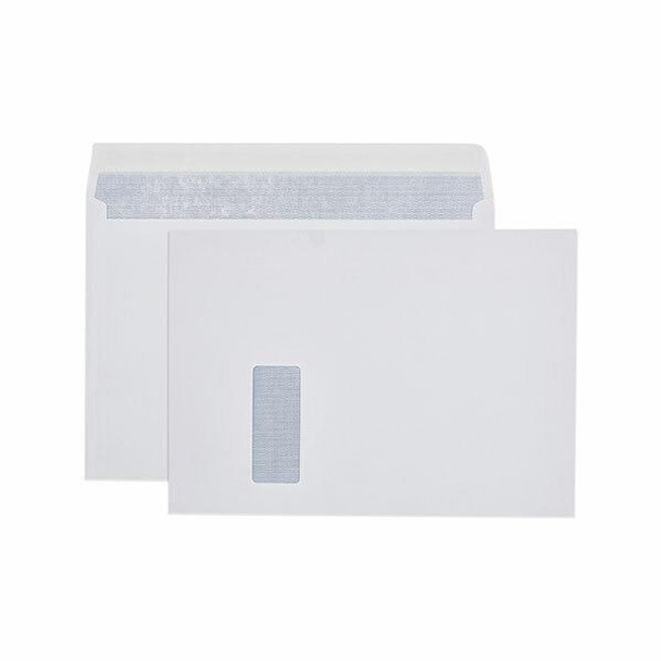 CUMBERLAND Strip Seal Secretive Booklet Mailer 100gsm C4 229 X 324mm White Box250 612344