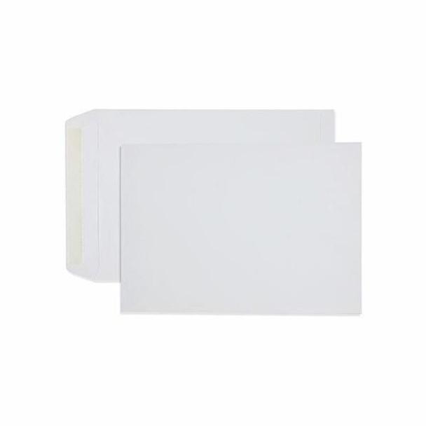 CUMBERLAND Strip Seal Pocket Envelope 100gsm B4 353 X 250mm White Box250 613339