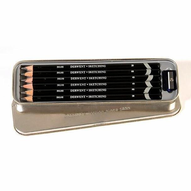 DERWENT Sketching Pencil Tin 6 X CARTON of 6 700836