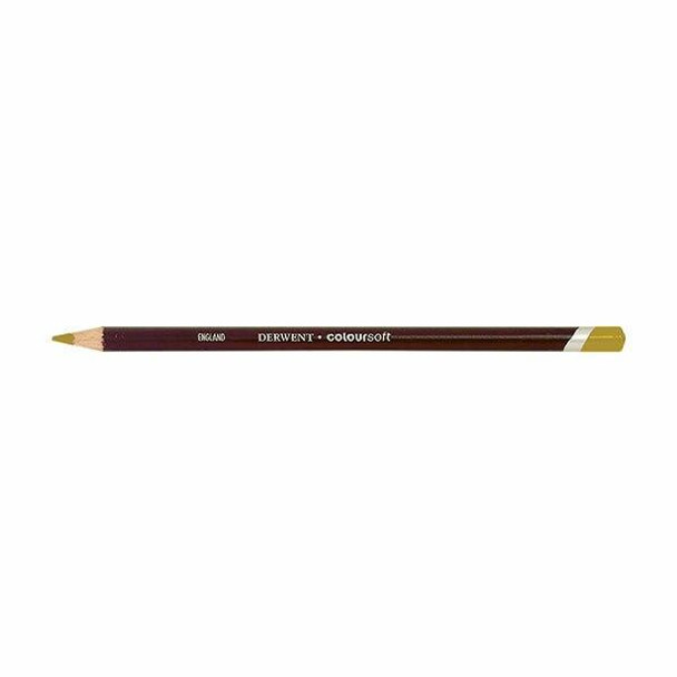 DERWENT Coloursoft Pencil Deep Cadmium C040 X CARTON of 6 700956