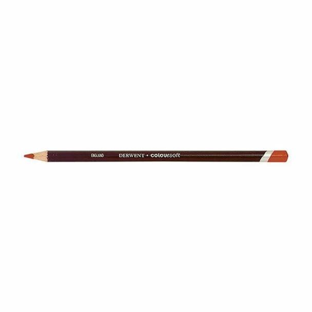 DERWENT Coloursoft Pencil Bright Orange C080 X CARTON of 6 700960