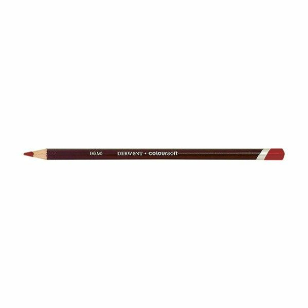 DERWENT Coloursoft Pencil SCARLet C110 X CARTON of 6 700963