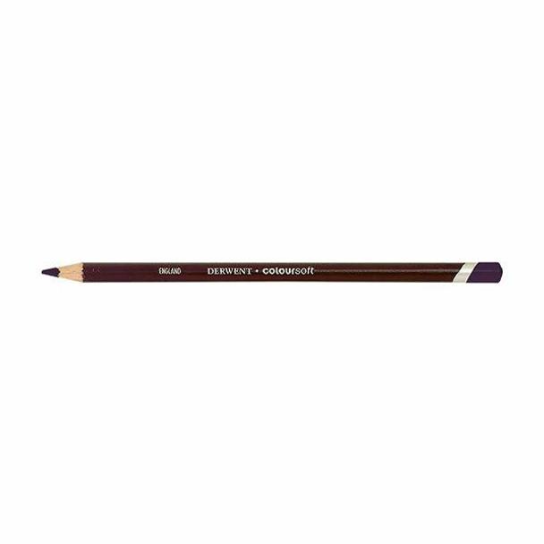 DERWENT Coloursoft Pencil Purple C250 X CARTON of 6 700977