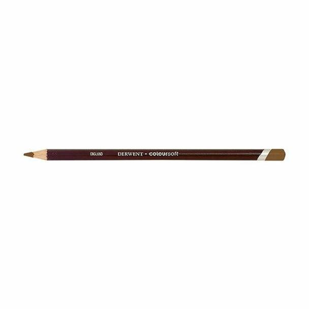 DERWENT Coloursoft Pencil Pale Brown C530 X CARTON of 6 701005