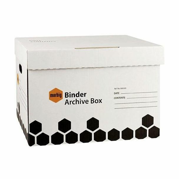 Marbig Archive Box Binder X CARTON of 5 800500