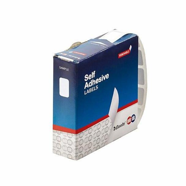 Quikstik Label Dispenser Rectangle 10x16mm White 1500 Labels 80124RR