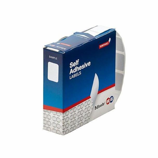 Quikstik Label Dispenser Rectangle 13x19mm White 1000 Labels 80130RR