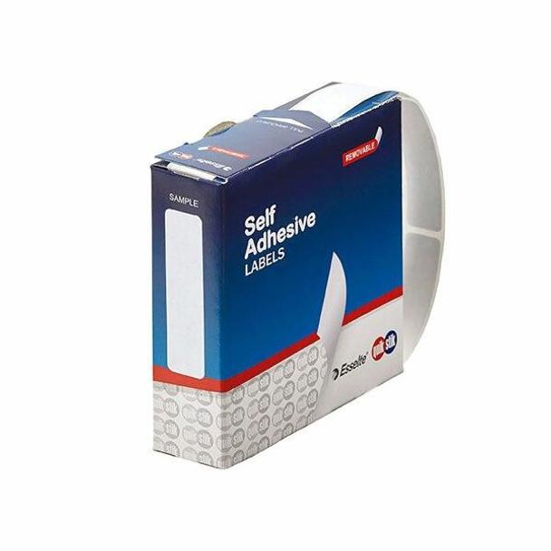 Quikstik Label Dispenser Rectangle 13x49mm White 550 Labels 80135RR