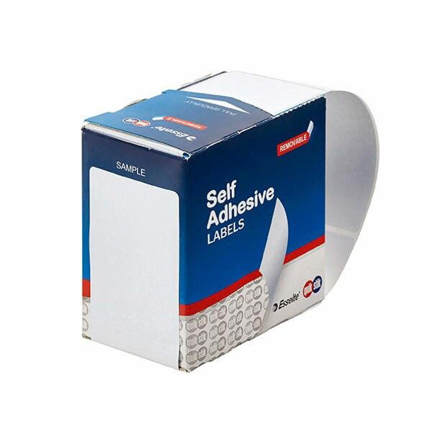 Quikstik Label Dispenser Rectangle 44x89mm White 100 Labels 80172RR