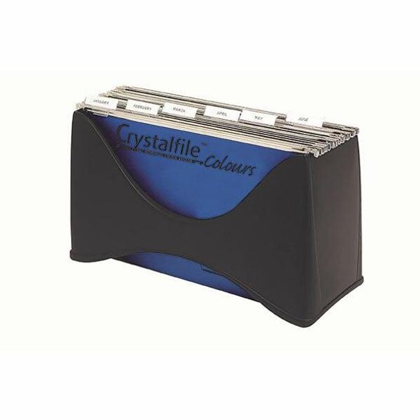 Crystalfile Desktop Filer Black X CARTON of 12 8108502
