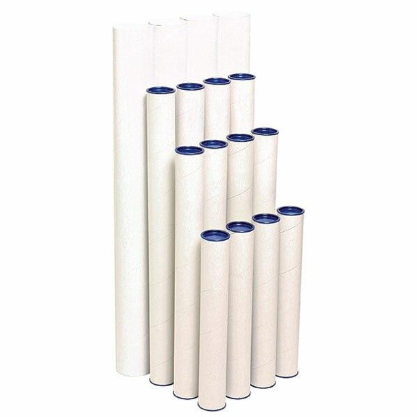 Marbig Mailing Tubes 420mm X 60mm CARTON of 4 841010A
