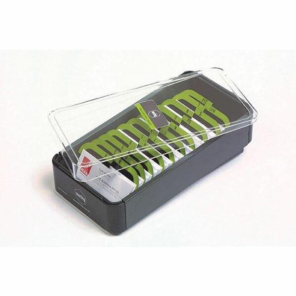 Marbig Business Card Box Filing Box400cap X CARTON of 6 87036