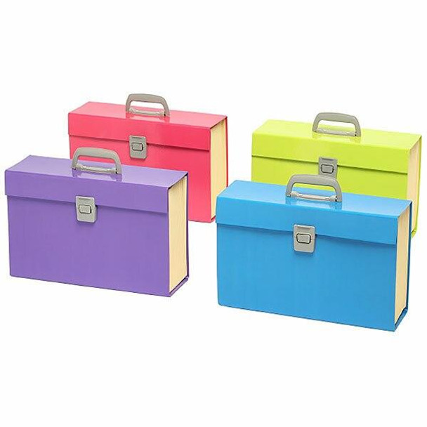 Marbig Carry File Assorted Summer Colours X CARTON of 5 9002399
