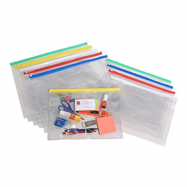 Marbig Clear Case A4 335x245mm Assorted X CARTON of 12 9008099