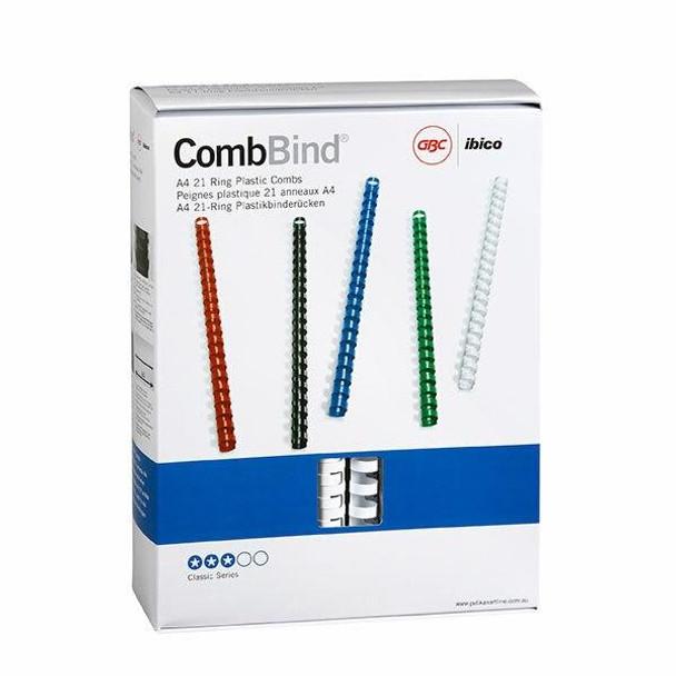 GBC Binding Comb 16mm White Pack100 BEP16W100