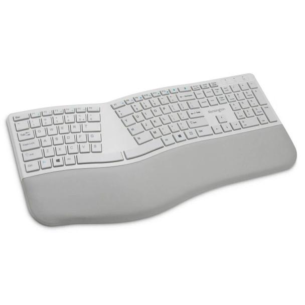 Kensington Dual Wireless Ergo Keyboard Grey K75402US
