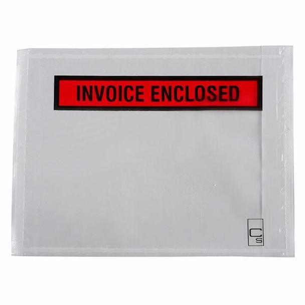 CUMBERLAND Packaging Envelope Invoice Enclosed 155 X 115mm Box100 OL200IE-100