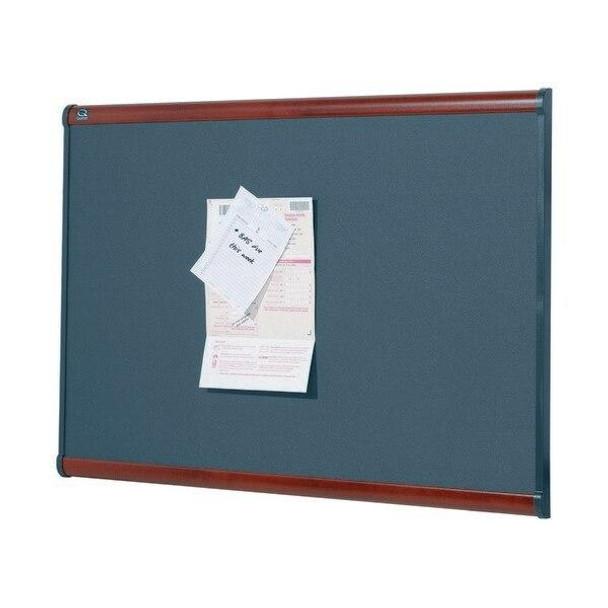 Quartet Prestige Bulletin Board Fabric Diamond 900x1200mm QTB444M